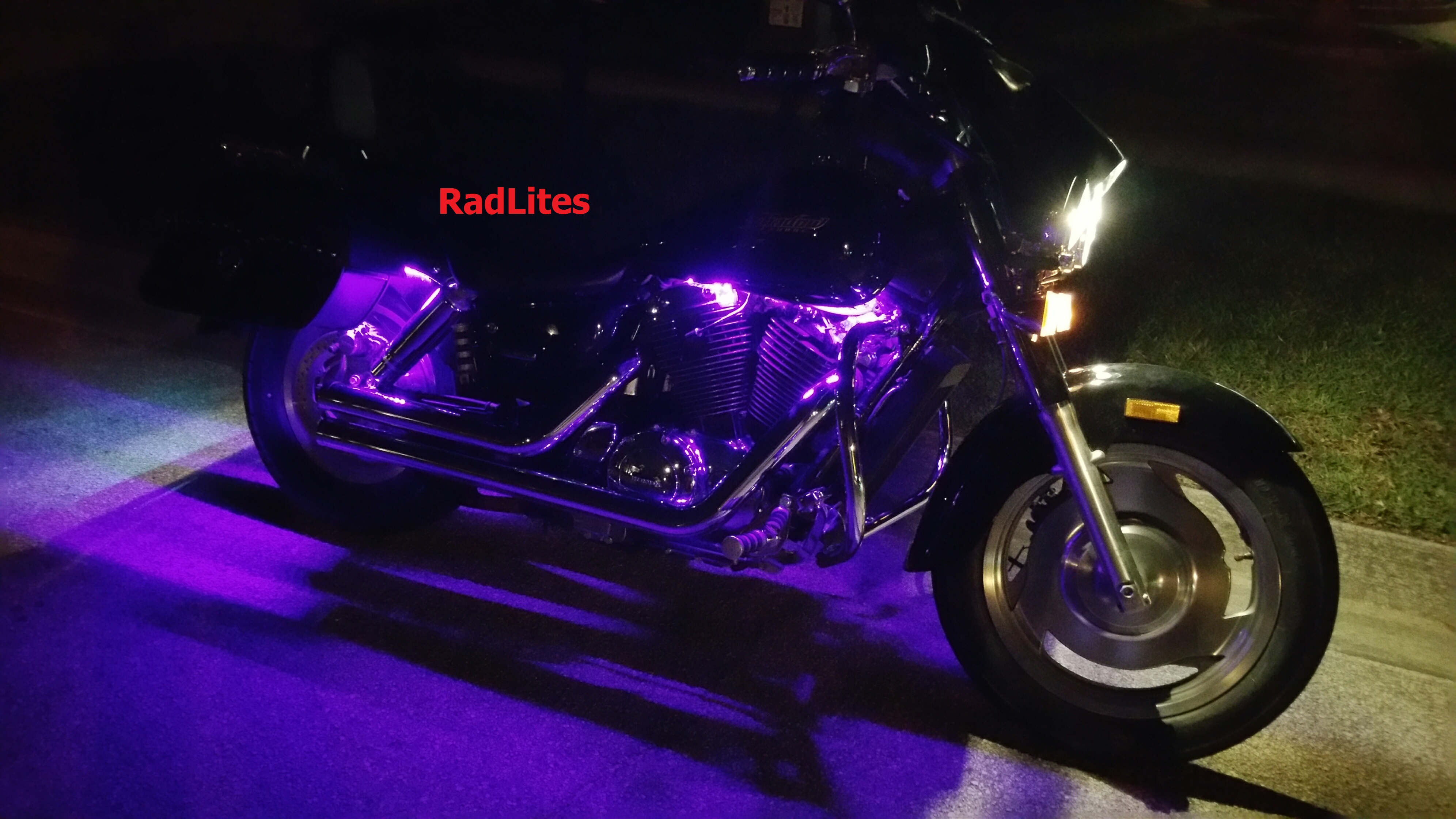 easy to led ways motorcycle install a wikihow lighting version on step lights