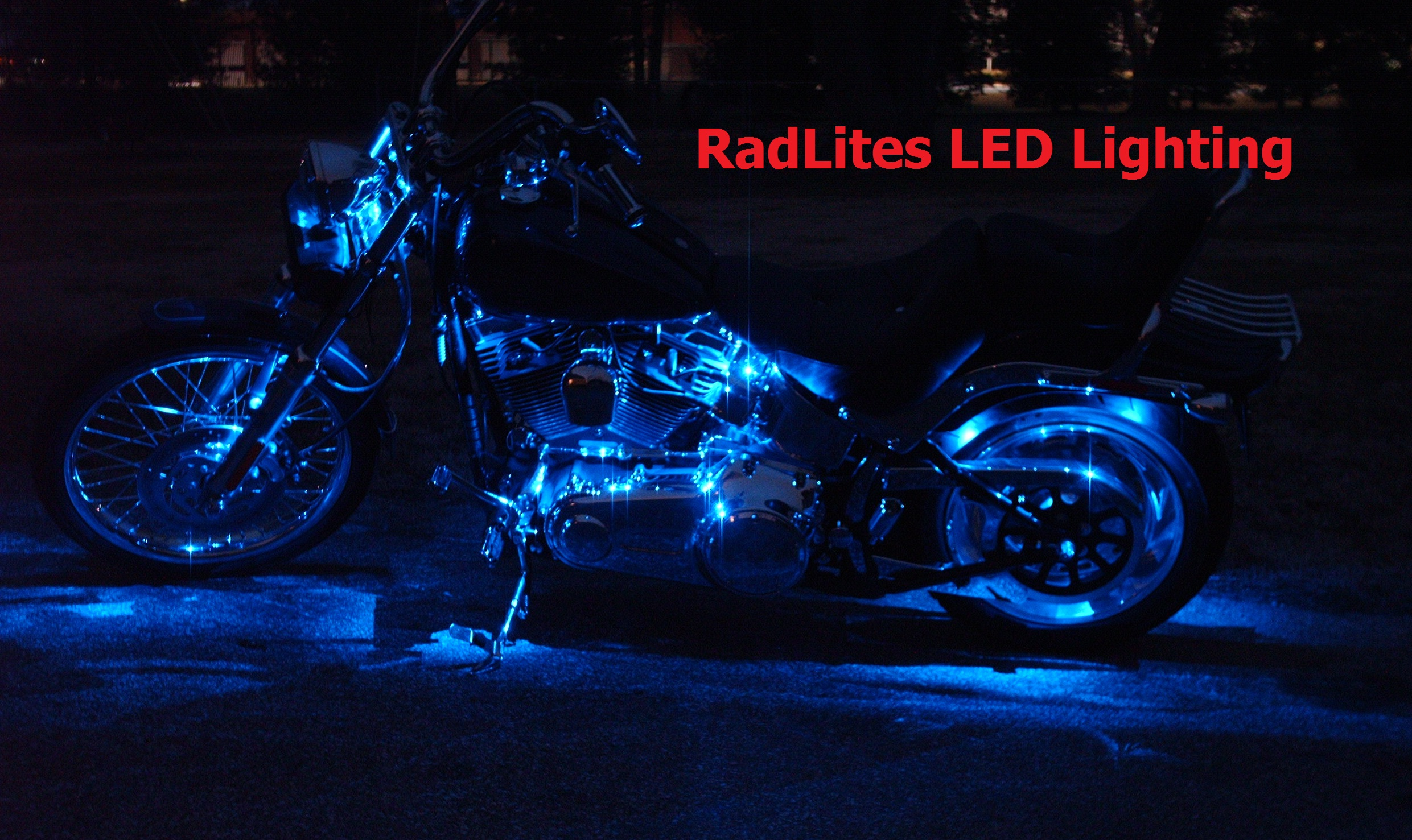 Harley_Davidson_Cruiser_Touring_Bike_LEDu0027s_Blue & Harley Davidson Engine Lighting azcodes.com