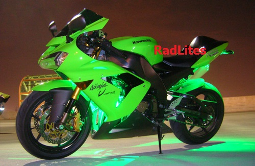 Green Kawasaki Ninja Lights