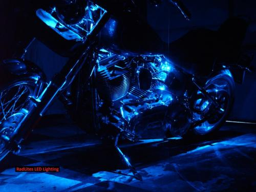 RadLites Harley Davidson Blue